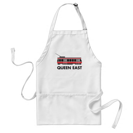 Queen East (Toronto) and Streetcar Apron