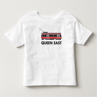 Queen East (Toronto) Streetcar Toddler T-Shirt
