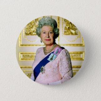 Queen Elizabeth 2 Inch Round Button