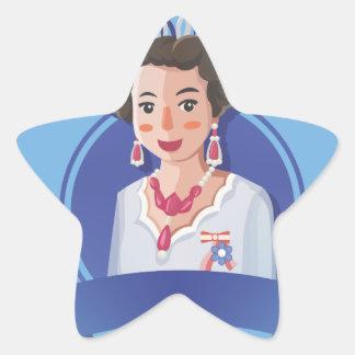 queen elizabeth 2 star sticker