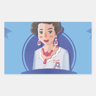 queen elizabeth 2 sticker