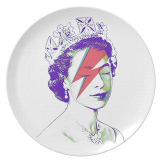 Queen Elizabeth | Aladdin Sane Plate