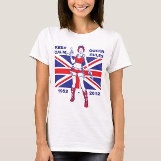 Queen Elizabeth Diamond Jubilee women's T-shirt