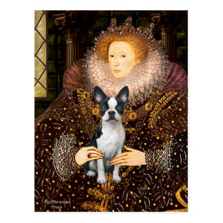 Queen Elizabeth I - Boston T #1 Postcard