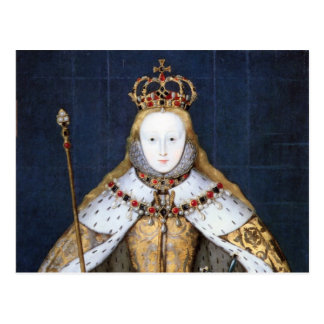 Queen Elizabeth I: Coronation Postcard