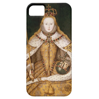 Queen Elizabeth I in Coronation Robes iPhone 5 Covers