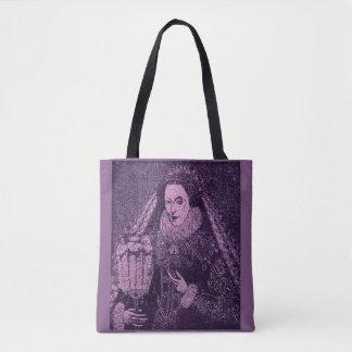 Queen Elizabeth I in lavender Tote Bag