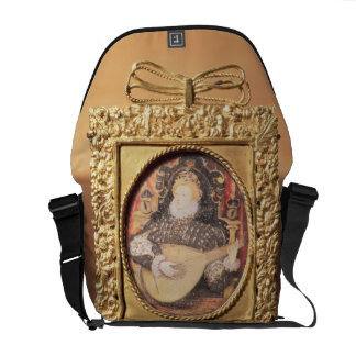 Queen Elizabeth I playing the lute (miniature incl Commuter Bag