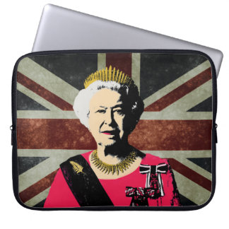 Queen Elizabeth II ı laptop cover