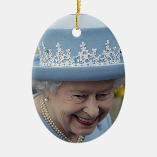 Queen Elizabeth II Queen of the United Kingdom Ornaments