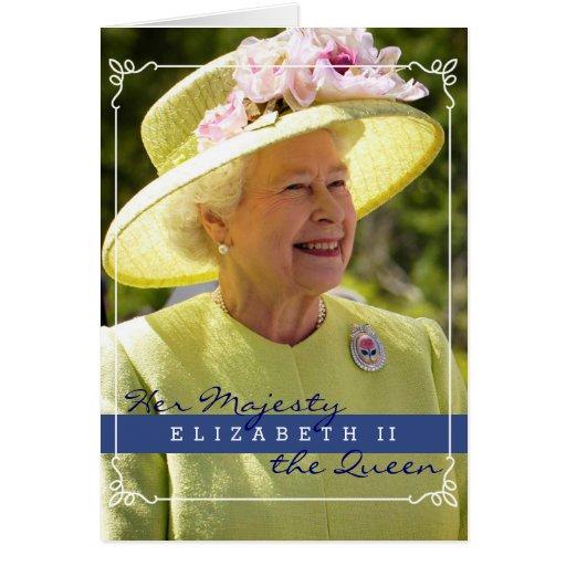 Queen Elizabeth of England Cards