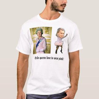 Queen Elizabeth (standing), bush_dance4, Why do... T-Shirt