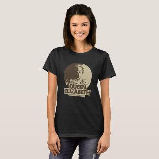 Queen Elizabeth T-Shirt Design - British monarch
