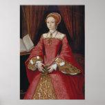 Queen Elizabeth The First Portrait Print
