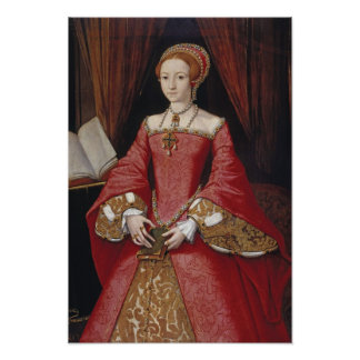 Queen Elizabeth The First Portrait Print