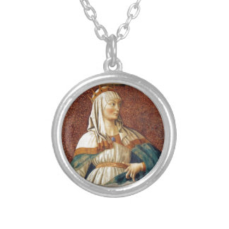 Queen Esther Silver Plated Necklace