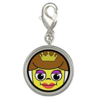 Queen Face Charm
