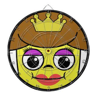 Queen Face Dartboard