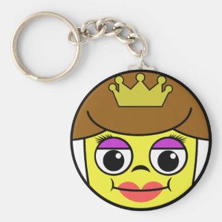 Queen Face Keychain