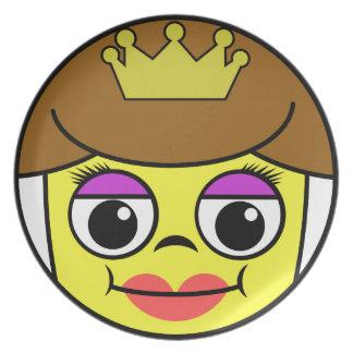 Queen Face Plate