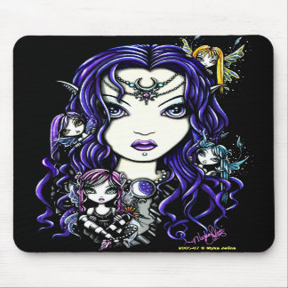 """Queen Fae"" Fairy Mousepad"