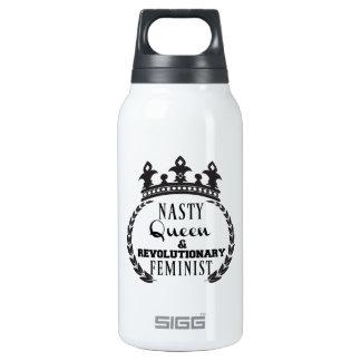 Queen Feminist Insulated Water Bottle