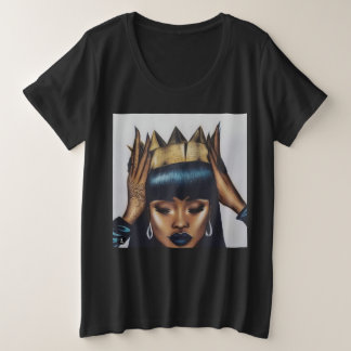 Queen Fitted Plus Size T-Shirt