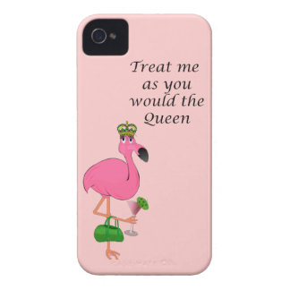 Queen Flamingo iPhone 4/4S Barely There Case