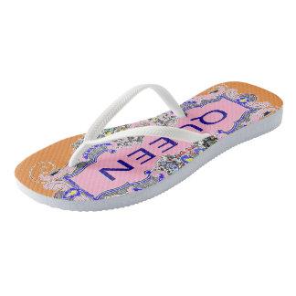 QUEEN Flip Flops