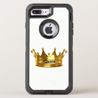 Queen Gold & White Otterbox Case