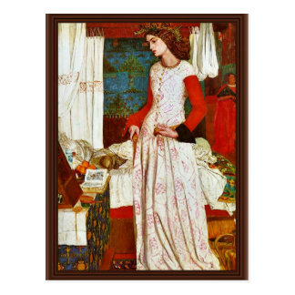 Queen Guinevere By William Morris (Best Quality) Postcard