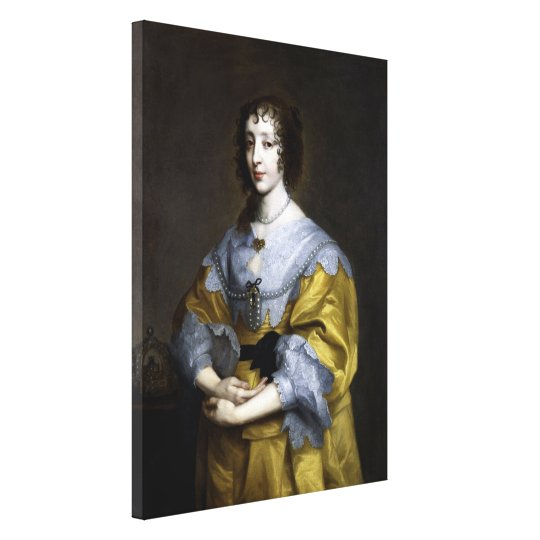 Queen Henrietta Maria Canvas Print