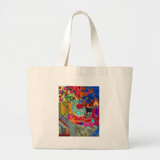 Queen Horror Large Tote Bag