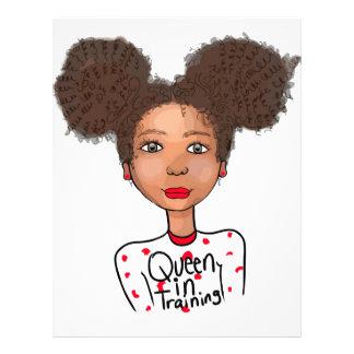 Queen in Training Letterhead