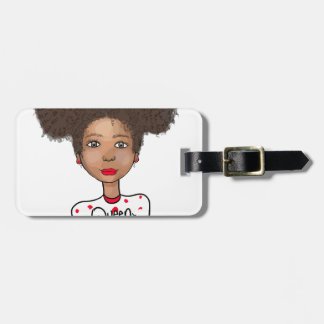 Queen in Training Luggage Tag