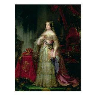 Queen Isabella II  of Spain Postcard