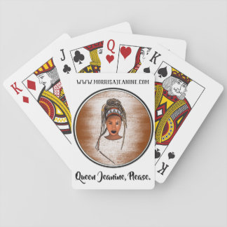 Queen Jeanine, Please Playing Cards