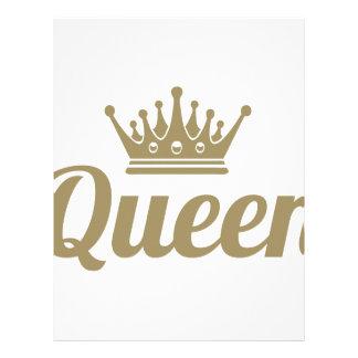 Queen Letterhead