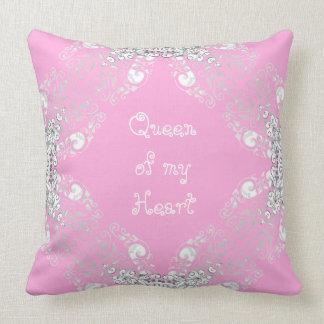 Queen-Lilac-Magic-Outdoor-Indoor-Pillow-Set's Throw Pillow