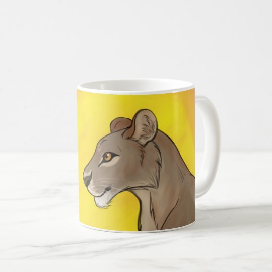 Queen Lioness Coffee Mug