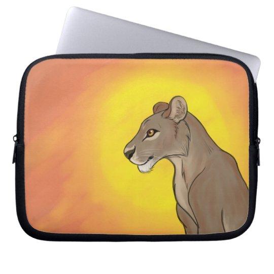 Queen Lioness Laptop Sleeve