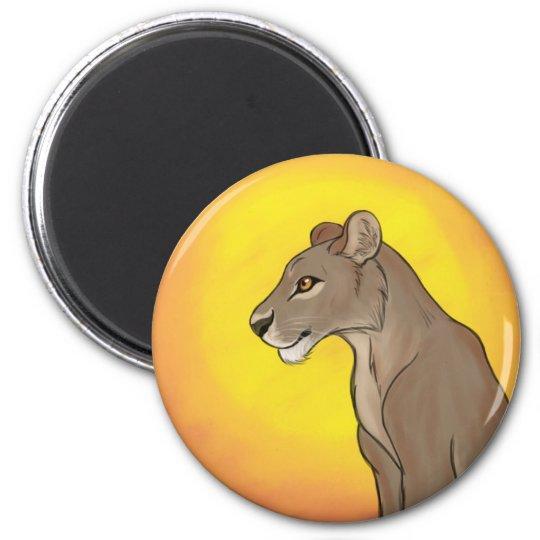 Queen Lioness Magnet