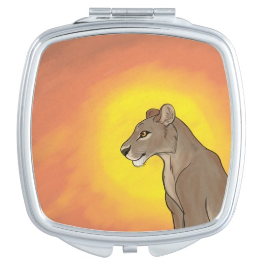 Queen Lioness Mirrors For Makeup
