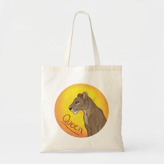 Queen Lioness Tote Bag