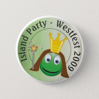 Queen Lo Party Button