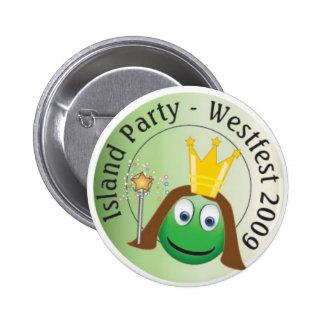 Queen Lo Party Button