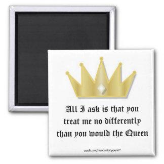 Queen magnet