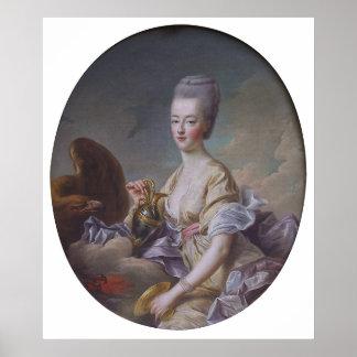 Queen Marie Antoinette by François Hubert Drouais Posters