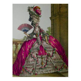 Queen Marie Antoinette ~ Postcard / Invitations
