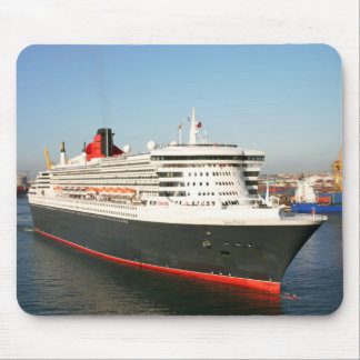 Queen Mary 2 Cruise Ship Mousepad
